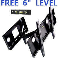 "1212-B Black Swivel 32""-60"" Flat Panel TV Wall Mount"